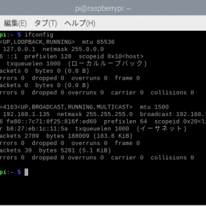 Raspberry PiでIPアドレスを固定する方法