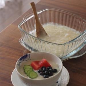 もち米の美味しい食事系デザート!