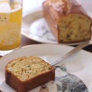 バターを使わないパウンドケーキ!