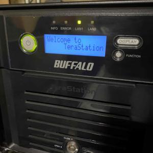 TeraStation TS5200Dを落札しました