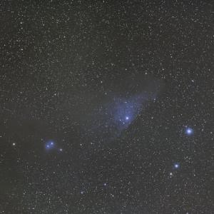 Eight Flat VS Blue Horse nebula