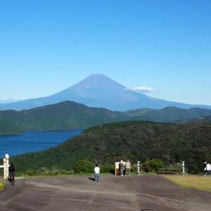 箱根・大観山からの富士山