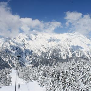 【雪景色編】北アルプスの絶景!新穂高ロープウェイ 雪景色に圧倒されます!