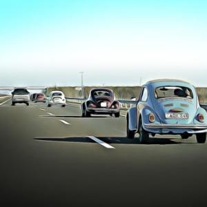 交通トラブルのリスクは車間距離と比例する。あおり運転の被害に遭わないために。