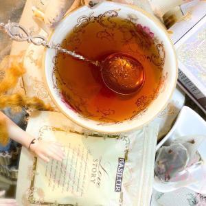 """*TEAREPO*「スリランカ🇱🇰から""""緑茶と紅茶が彩る甘く華やかなラブロマンス""""」/バシラーティー【ミニチュアラブストーリーⅡ】"""