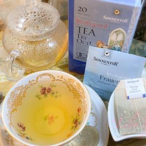"""*TEAREPO*「オーストリア🇦🇹 から""""甘く淡い味わいで、女性のためにブレンドされたハーブティーを""""」/ゾネントア【女性のためのお茶+ HILDEGARD'S Tea for Women +】"""