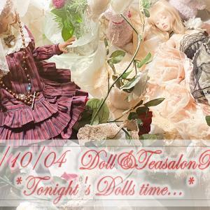 [2020/10/04] Tonight's Dolls tiem