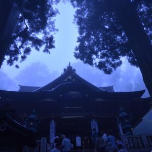 三峰神社#3 霧の本殿