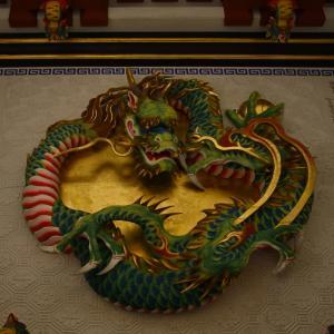 三峰神社#4 木彫りの龍