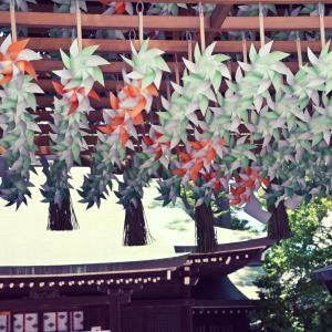 川越氷川神社#1 風車が可愛い