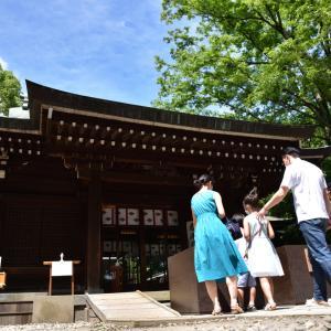 川越氷川神社#2 本殿への参拝