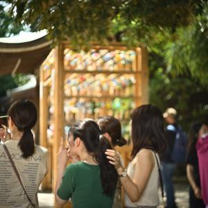 川越氷川神社#4 若い女性にも人気