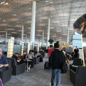 北京首都国際空港 中国国際航空ビジネスラウンジ訪問記