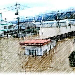 台風19号・車水没・ボートで脱出!
