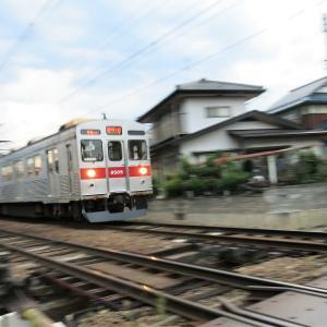 【写真】ちょっとうまく取れた電車