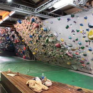 「船橋ロッキーで登る!」なサルですわ