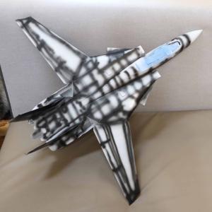 F-14トムキャット 外観塗装やっと完了