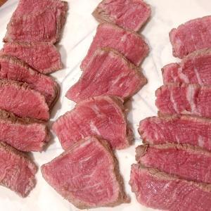 HUBER'Sのお肉デリバリーと牛フィレ肉食べ比べ