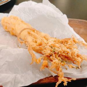 疲れを取りたくて、素敵カフェでジンセン(高麗人参)を丸ごと食べてみる