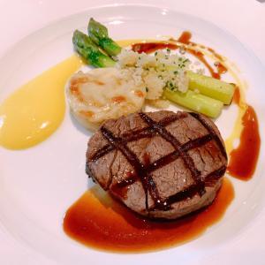 乙女心くすぐるステーキコース『Gordon Grill』でお祝いランチ