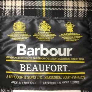 Barbour バーブァー のメンテナンスは夏にやる。オイル抜き リプルーフ