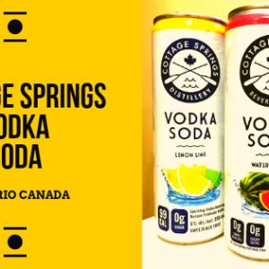 Cottage Springs:ウォッカ&ソーダ。夏に飲みたいお酒