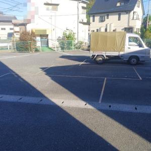 3台の駐車枠を、