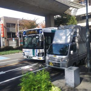 今日は小倉の街中を中心に配達します。