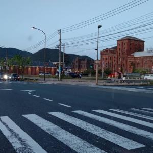 関門海峡沿いを門司まで走ったら、門司から新門司に抜けます。