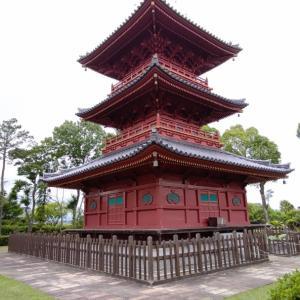 豊前国分寺の三重塔を後にしたら、午後の現場に