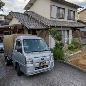 北九州に戻った後は、先日の草むしりのお宅へ。