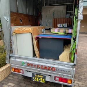 荷物を指定の場所に搬入したら、引越は終了です。