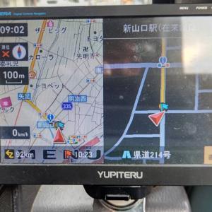 今朝は9時に山口県の新山口駅前辺りを出発。中国道を