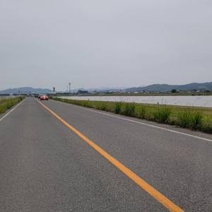 八幡西区の配達が終われば、遠賀川沿いのエリアの配達を