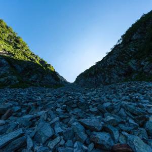 白出のコル 穂高岳山荘