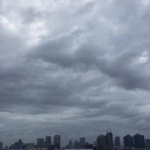 台風15号接近中の東京都 / 9月8日(日)