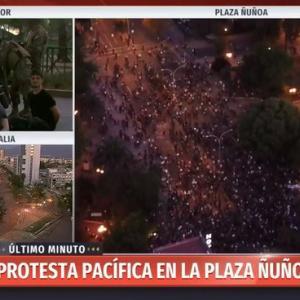 チリの暴動、悪化してます。