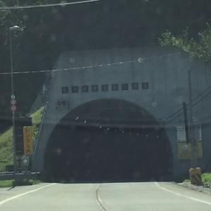 帯広から襟裳岬までの道のり / トンネル後半編