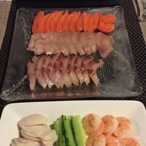 ある日の手巻き寿司