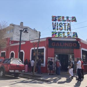南米色濃い老舗レストラン / GALINDO