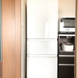 わーい!冷蔵庫買い替えました