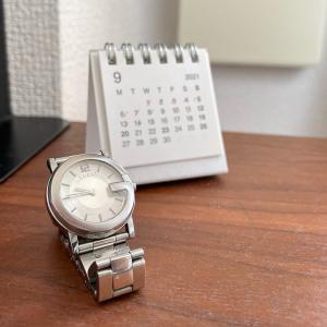 腕時計を卓上時計に