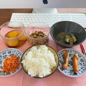 忙しい時の食事と週末の冷蔵庫