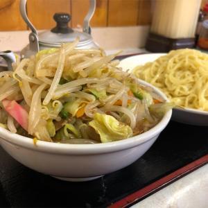 丸龍『特製野菜つけそば(醤油)』超大盛りの野菜と最高のつけ麺がここにあった!!これは噂に違わぬ大発見だ!!