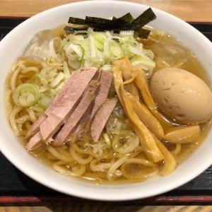 勝どき@舎鈴『冷やかけ』過ぎ去りし夏を思いながら食べる旨味たっぷり濃厚スープが最強クラスのラーメンだった件!!