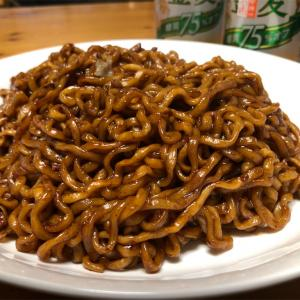 チャパゲティという韓国で人気のインスタント麺を正しく作って食べてみよう!!