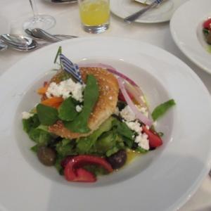 エーゲ海クルーズ旅行 №20 ディナーは盛り上がりました