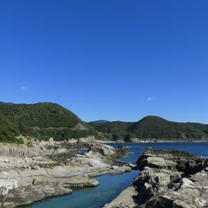 南紀串本・橋杭岩の夕映え