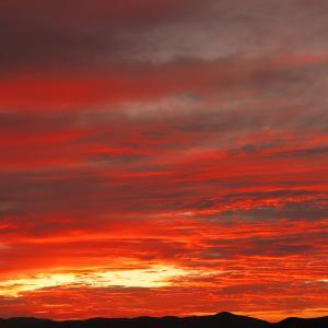 「一発逆転の夕焼け」~曇りの日にこそ狙う~