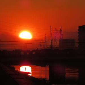 どことなく昭和風~わが郷里の夕景から~
